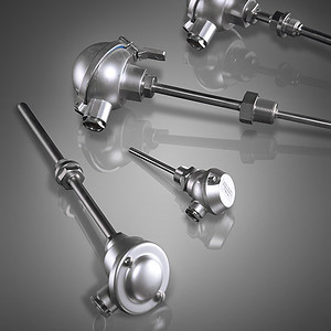 Threaded thermocouples