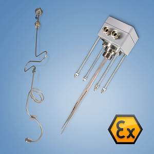 Ex i, Zone 0 Gas / Zone 20 Dust - Special builds Ex i sensors (e.g. Multipoint or Tube skin)