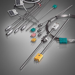 Mineral insulated thermocouples without an extra protection tube